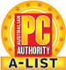 Our overclocked, custom built gaming computer received a PC Authority A-list award!